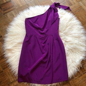 Antonio Melani Purple Cocktail Dress